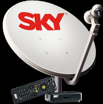 Antena Sky Pré Pago Flex