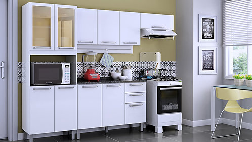 Cozinha Itatiaia Cacau Branco