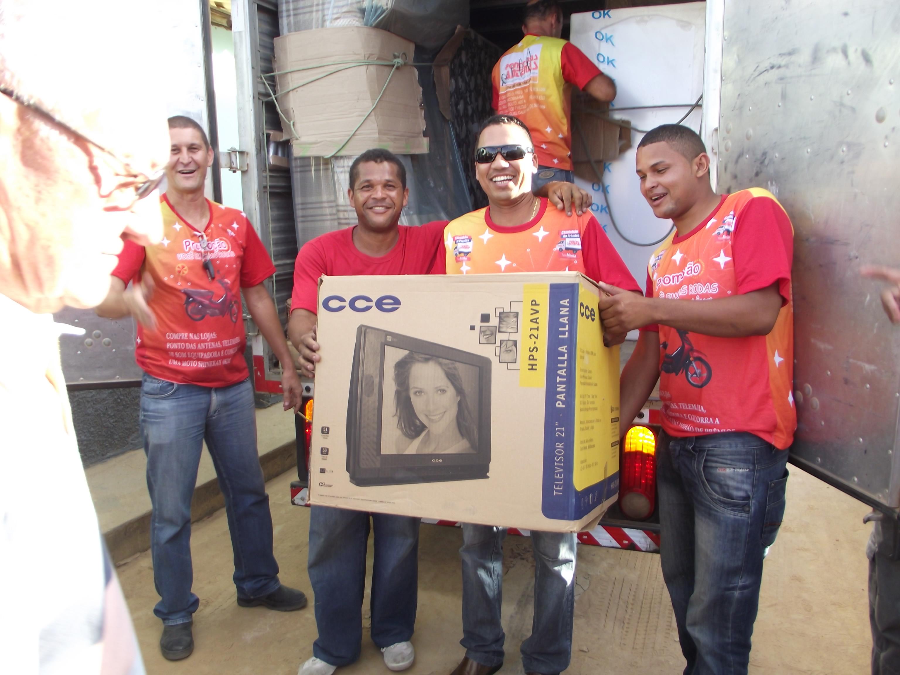 Caminhão de Prêmios 2012