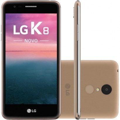 CELULAR LG K8 LGX240 4G DUAL DOURADO