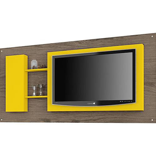 Painel Bechara 5011 Luxo Teka Touch/Amarelo