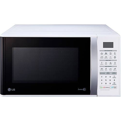 Microondas LG 30L Easy Clean MS3052RA BCO 220V