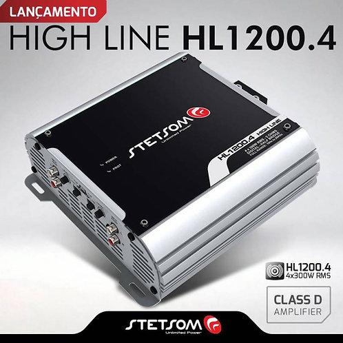 AMPLIFICADOR STETSOM HIGH LINE HL1200.4 2OHMS