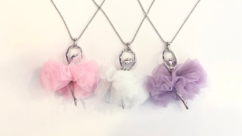 TUTU BALLERINA NECKLACE