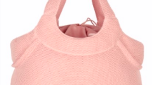 LARGE MICROPERFORATED TOTE BAG