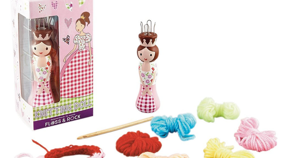 PRINCESS KNITTING DOLL