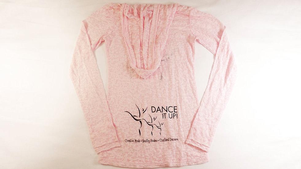 Dance It Up! BURN OUT HOODIE (PINK OR BLACK)