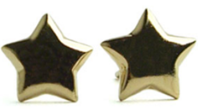 14K GOLD VERMEIL STAR POSTS