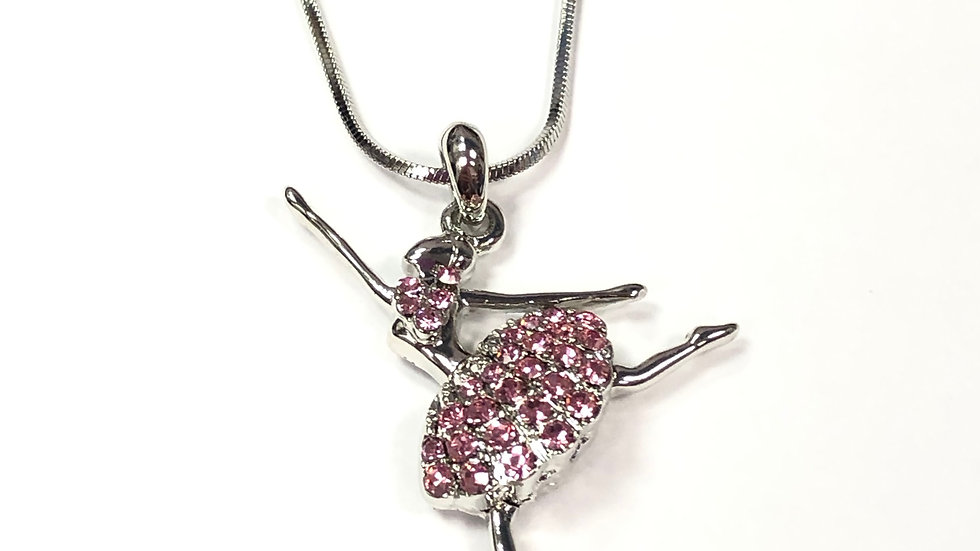 BALLERINA THIRD ARABESQUE NECKLACE
