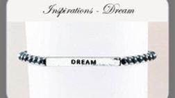 INSPIRATIONS HEMATITE BRACELET