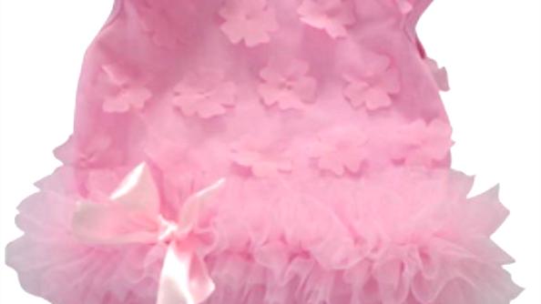 PINK FLOWER PETAL ONESIE