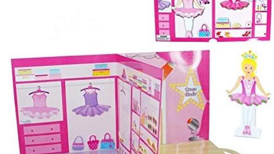 BALLERINA POP-UP DANCE STUDIO PLAYSET