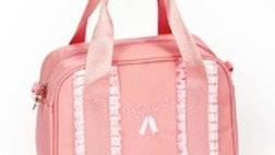 GIRL'S RIBBON DUFFEL BAG