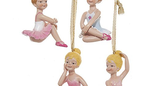 LITTLE BALLERINA ORNAMENTS
