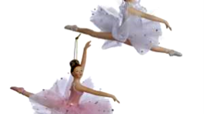 LEAPING BALLERINA ORNAMENT