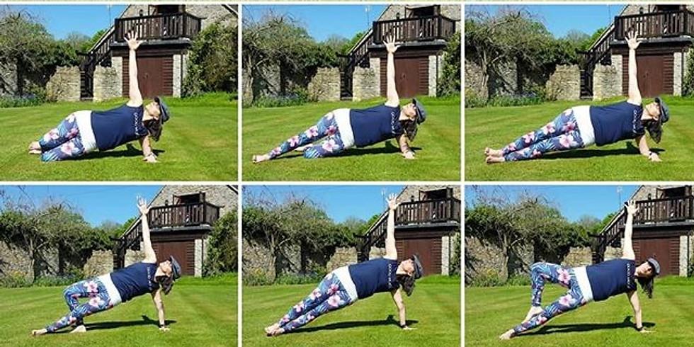 Step Up Your Asana! Working towards Side Plank (Vasisthasana)
