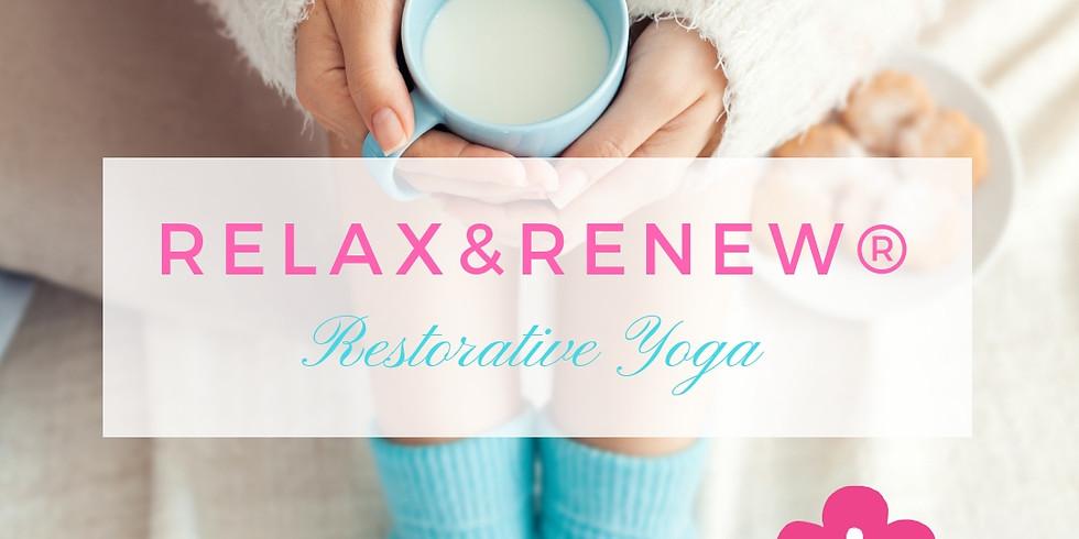 Relax & Renew® Restorative Yoga: Learning Conscious Deep Resting.
