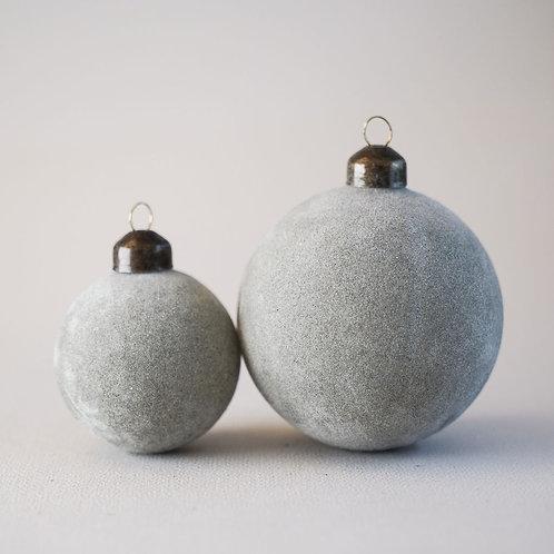 Ornament Flock Grey
