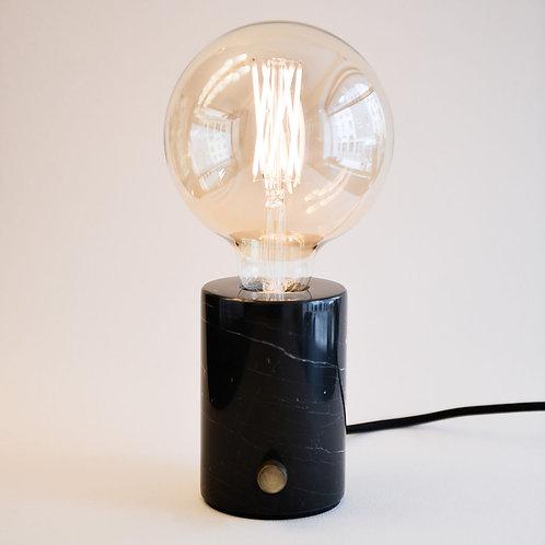Obris Lamp Marble Black