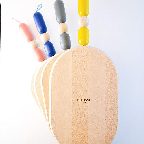 Oval Cutting Board