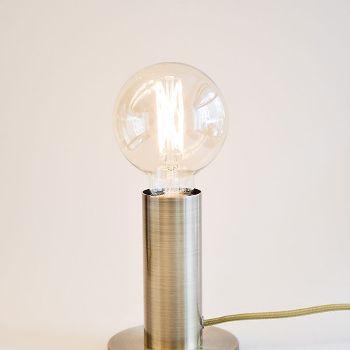 Sol Lamp Antique Brass