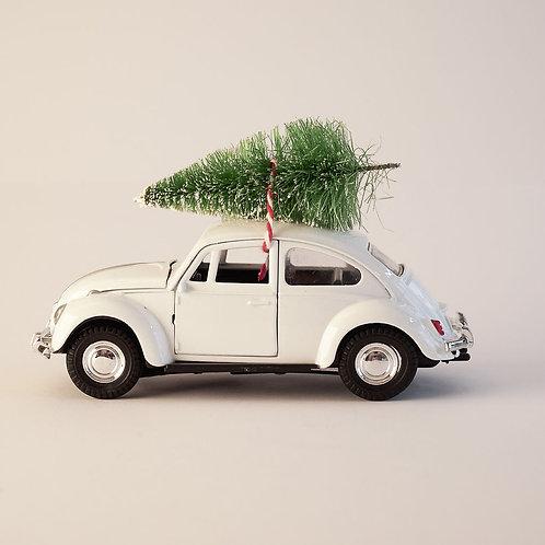 Decoration Mini Xmas Car