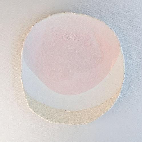 Desert Plate Wabi Rose