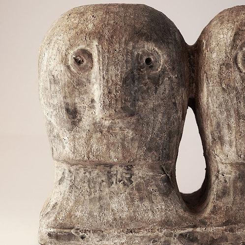 Art Piece Ancient Head