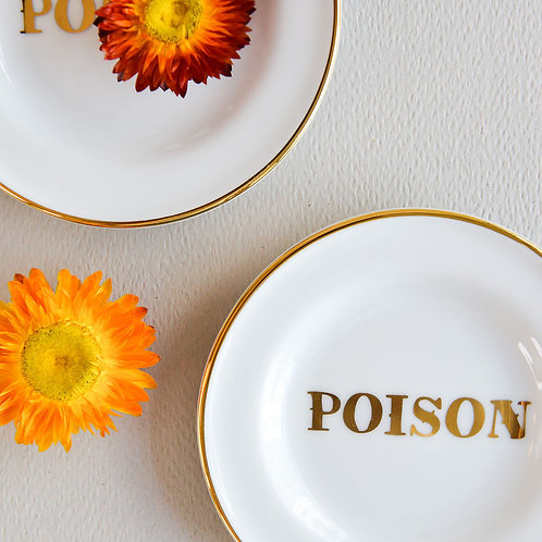 Little Plate Gold Poison