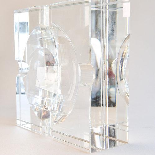 Ashtray Acolyte Crystal Glass