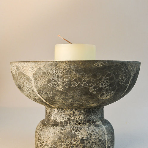 Candle Stand Ancient Grey/Brown