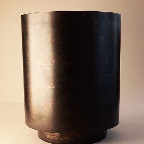 Planter Como Matte Iron/Black