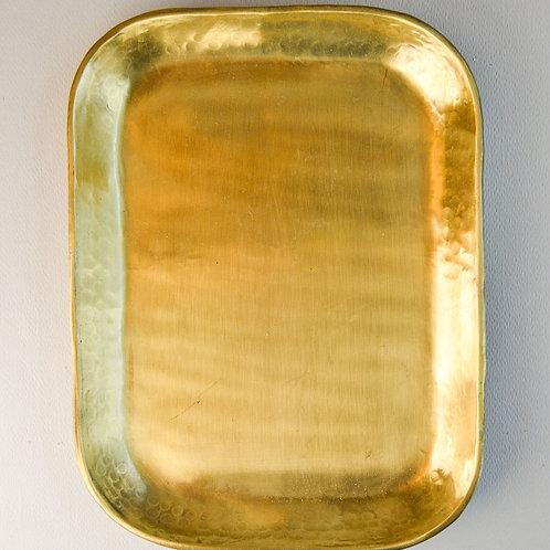 Tray Rich Brass