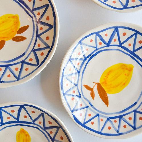 Plate Lemon Moroccan