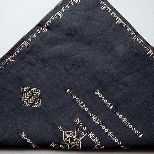 Pillowcase Inka Dark Grey