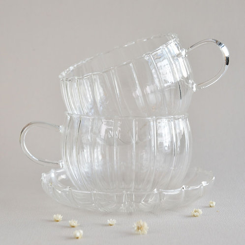 Tea Cups & Saucer