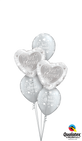 15816 19136  Just Married Hearts Classic