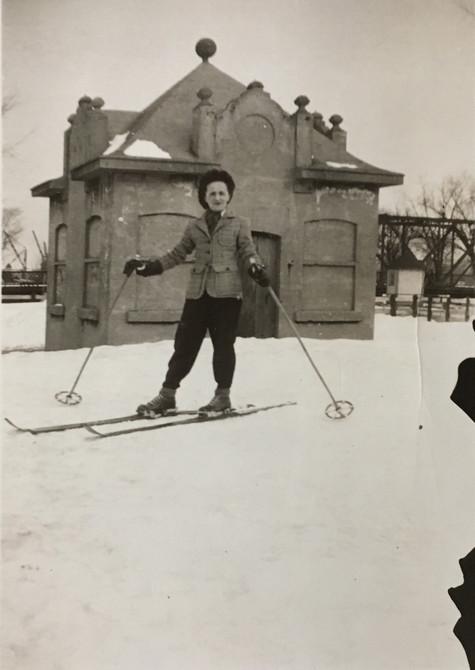 Ski de fond Lachine en Fête 1942 Archives du Musée de Lachine