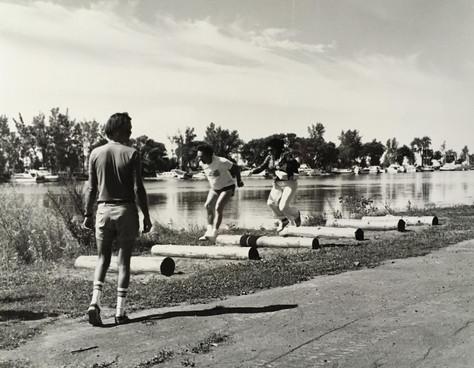 Concours de saut Fêtes de Lachine 1978 Archives du Musée de Lachine