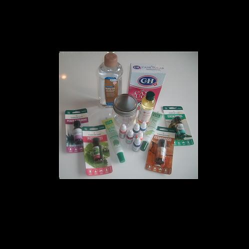 Vitamin E Oil Sugar Scrub Kit