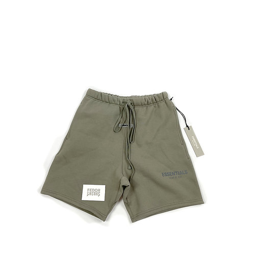 ESSENTIALS X FEAR OF GOD Sweat Shorts 'Cement'