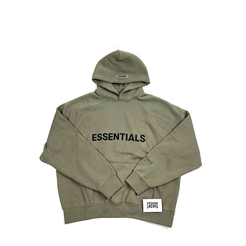ESSENTIALS X FEAR OF GOD Hoodie 'Cement'