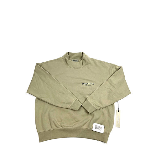 ESSENTIALS X FEAR OF GOD Neck-Sweater 'Olive'