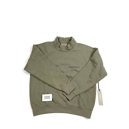 ESSENTIALS X FEAR OF GOD Neck-Sweater 'Cement'