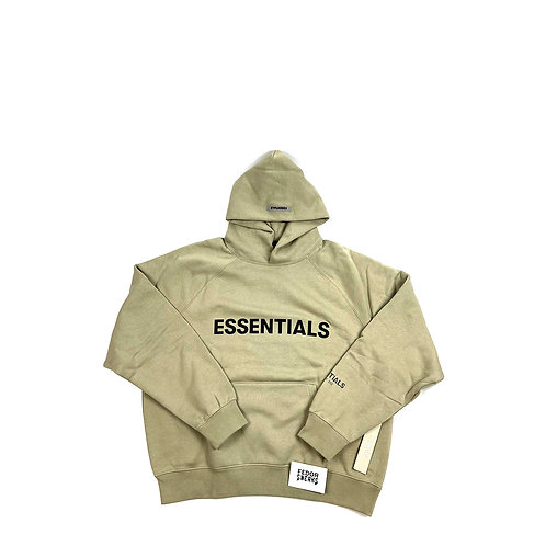 ESSENTIALS X FEAR OF GOD Hoodie 'Olive'