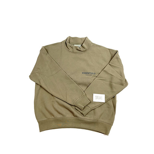 ESSENTIALS X FEAR OF GOD Neck-Sweater 'Taupe'
