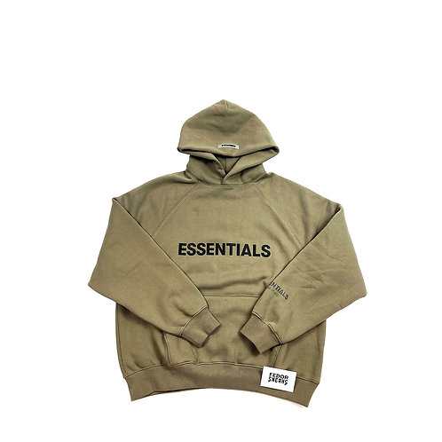 ESSENTIALS X FEAR OF GOD Hoodie 'Taupe'