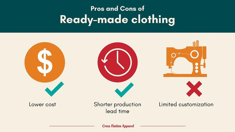 ready made clothing