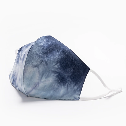 Sky Hand Dyed Mask