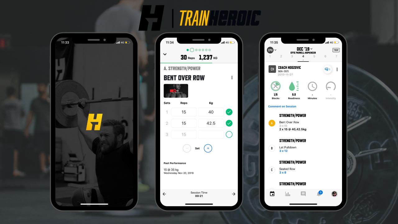TrainHeroic App